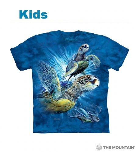 Find 9 Sea Turtles - Kids Aquatic T-shirt - The Mountain®